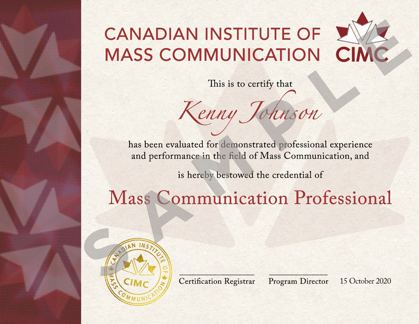 CIMC-MCP-Certificate
