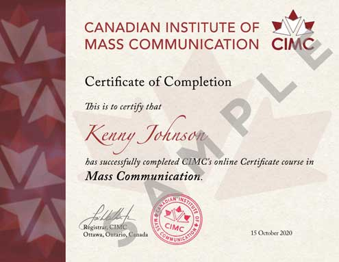CMC-Certificate-SAMPLE