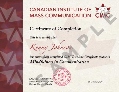 Mindfulness-Certificate-SAMPLE